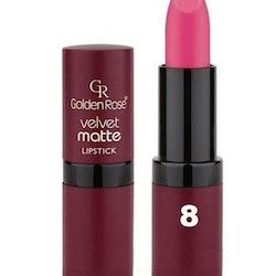 Golden Rose Velvet Matte Lipstick#08Deep Blush Pink
