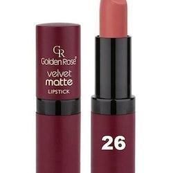 Golden Rose Velvet Matte Lipstick #26 Sea Pink