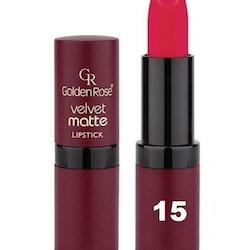 Golden Rose Velvet Matte Lipstick #15 Cardinal Red