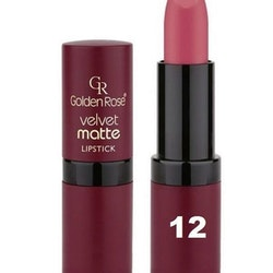 Golden Rose Velvet Matte Lipstick #12 Contessa Red