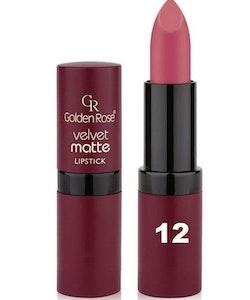 Golden Rose Velvet Matte Lipstick #12 Contessa Red