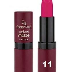 Golden Rose Velvet Matte Lipstick #11 Cerise Violet