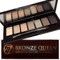 W7 Bronze Queen Fantasy Bronze 7 Colour Eyeshadow Palette