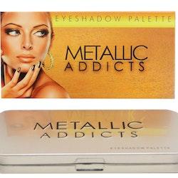 Saffron Addicts Metallic shadow Palette