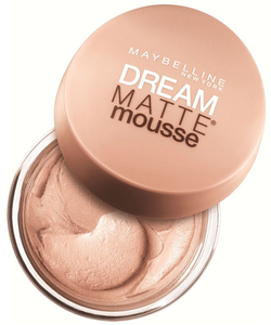 Maybelline Dream Matte Mousse Foundation SPF15 - Nude