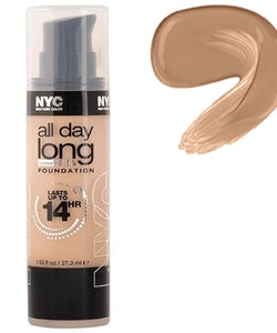 NYC All Day Long Smooth Skin Foundation - 740 Warm Beige