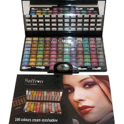 Saffron 100 Colour Cream Eyeshadow Set