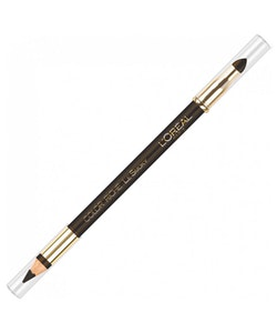 L Oreal Riche Le Smoky Pencil Eyeliner and Smudger - Brown Fusion
