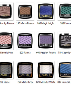 Astor Couture Eye Artist Color Waves Pearl Shadow - Smoky Brown