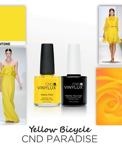 CND Vinylux Paradise Collection - Bicycle Yellow