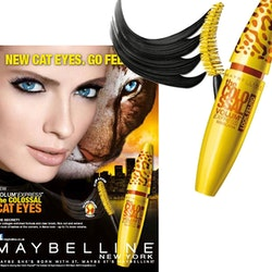 Maybelline Colossal Volum'Express Cat Eyes Mascara-Wild Black