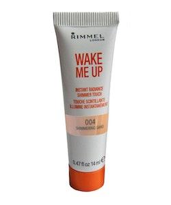 RIMMEL Wake Me-Up RADIANCE SHIMMER Highlight&Blush-004 Shimmer Sand