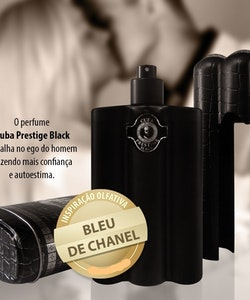 Cuba Prestige BLACK EDT 90ml Parfums Des Champs