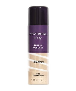 Covergirl Simply Ageless 3-in-1 Liquid Foundation - 220 Creamy Natural