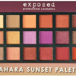Exposed  London Sahara Sunset Palette-Limited Edition
