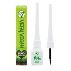 W7 Very Vegan Liquid Eyeliner-Black