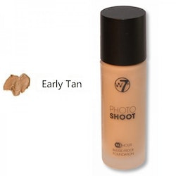 W7 Photoshoot 16HR Glass Foundation - Early Tan