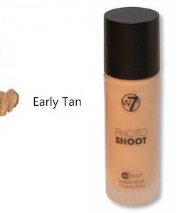 W7 Photoshoot 16HR Glass Foundation - Early Tan