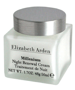 Elizabeth Arden Millenium Night Renewal Cream + Totebag
