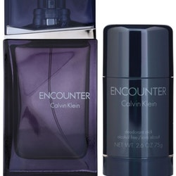 Calvin Klein ENCOUNTER Gift Set-100ml EDT+75ml Deodorant Stick