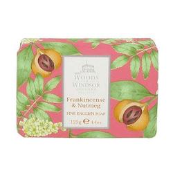 Woods of Windsor English Soap - Frankincense & Nutmeg