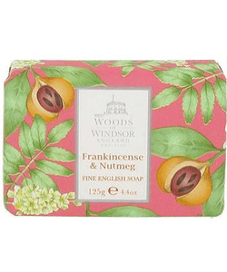 Woods of Windsor English Soap - Frankincense & Nutmeg