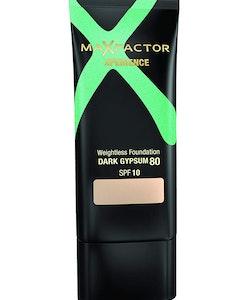 Max Factor Xperience Weightless Foundation SPF10 - 80 Dark Gypsum