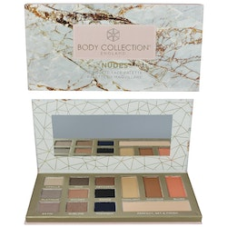 Body Collection VEGAN Suitable Complete Face Large Palette - Nudes