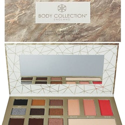Body Collection VEGAN Suitable Complete Face Large Palette  - Smokey