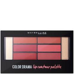 Maybelline Color Drama Lip Contour Palette - Blushed Bombshel
