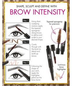 Sleek Brow Intensity Brow Gel and Highlighter-217 Dark