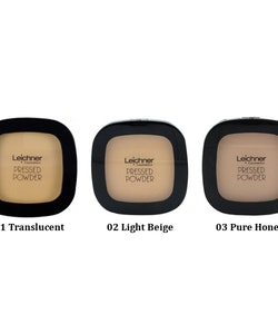 Leichner Pressed Powder-02 Light Beige