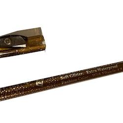 Glitter XXL Waterproof & VitaminA&E with Sharpener- Copper Brown
