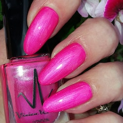 Vivien Kondor Vegan Friendly Cruelty Free Polish - Neon Raspberry