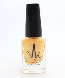 Vivien Kondor Vegan Friendly Cruelty Free Polish -Neon Gold