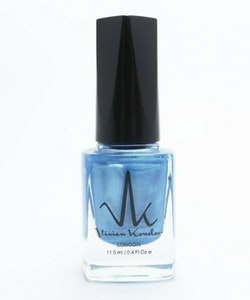 Vivien Kondor Vegan Friendly Cruelty Free Neon Polish -Neon Blue