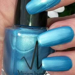 Vivien Kondor Vegan Friendly Cruelty Free Neon Polish -Neon Blue