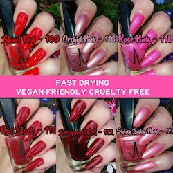 Vivien Kondor Vegan Friendly Cruelty Free Polish - 114 Maroon