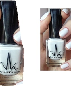 Vivien Kondor Vegan Friendly Cruelty Free Polish - Matte White