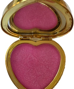 Katie Price Besotted Heart Shaped Compact Solid Perfume with mirror