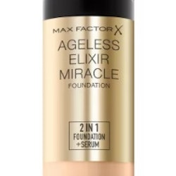 Max Factor Ageless Elixir 2 in 1 Foundation + Serum - Porcelain SPF 15 30ml