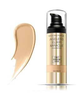 Max Factor Ageless Elixir 2 in 1 Foundation + Serum SPF 15 30ml - 75 Golden