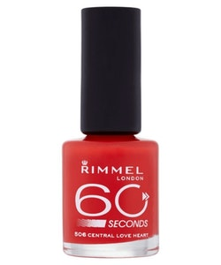 Rimmel 60 Seconds Nail Polish-506Central Love Heart
