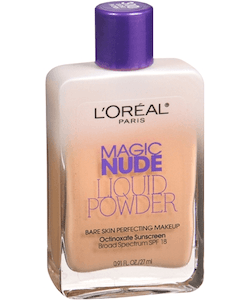 L'Oreal Nude Liquid Bare Skin Perfecting Makeup SPF18-Classic Tan