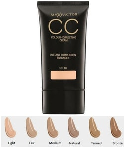 Max Factor CC Colour Correcting Cream SPF 10 - 75 Tanned