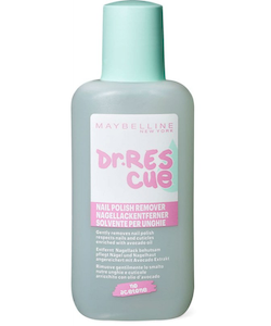 Maybelline Dr. Rescue Acetone Free Nail Polish Remover- Travel Size mini