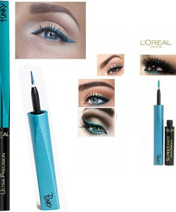 L'Oreal Super Liner Ultra Precision Liquid-Mat-Satin Effect - Turquoise