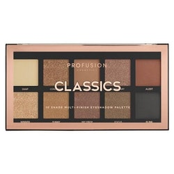 Profusion Classics Multi Finish Eyeshadow Palette