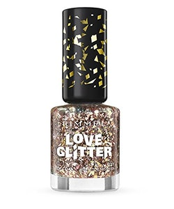Rimmel London Love Glitter Nail Polish -031 Mistletoe Mischief