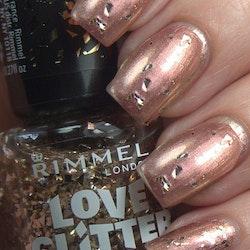 Rimmel London Love Glitter Nail Polish -031 Mistletoe Mischief